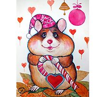 candy hamster Photographic Print