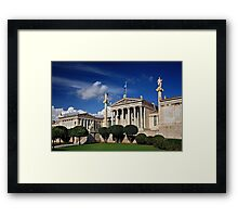 The Academy of Athens Framed Print