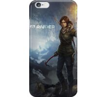 Rise of the Tomb Raider - v01 iPhone Case/Skin