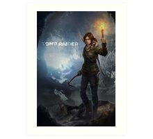 Rise of the Tomb Raider - v01 Art Print