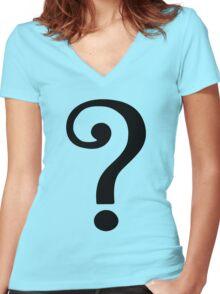 The Riddler - Batman '66 - Joker - DC COMICS Women's Fitted V-Neck T-Shirt