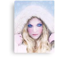 Fantasy Snow Queen Canvas Print