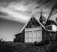 Lytham Lifeboat House &  Windmill by AlanDuggan