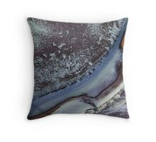 river frost Throw Pillow