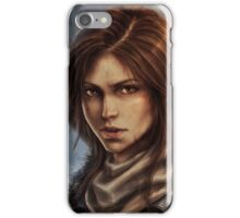 Rise of the Tomb Raider - v02 iPhone Case/Skin