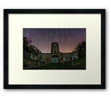 Ravensworth Castle Startrails Framed Print