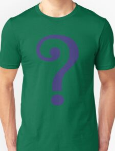 The Riddler  (Purple Question Mark) Unisex T-Shirt