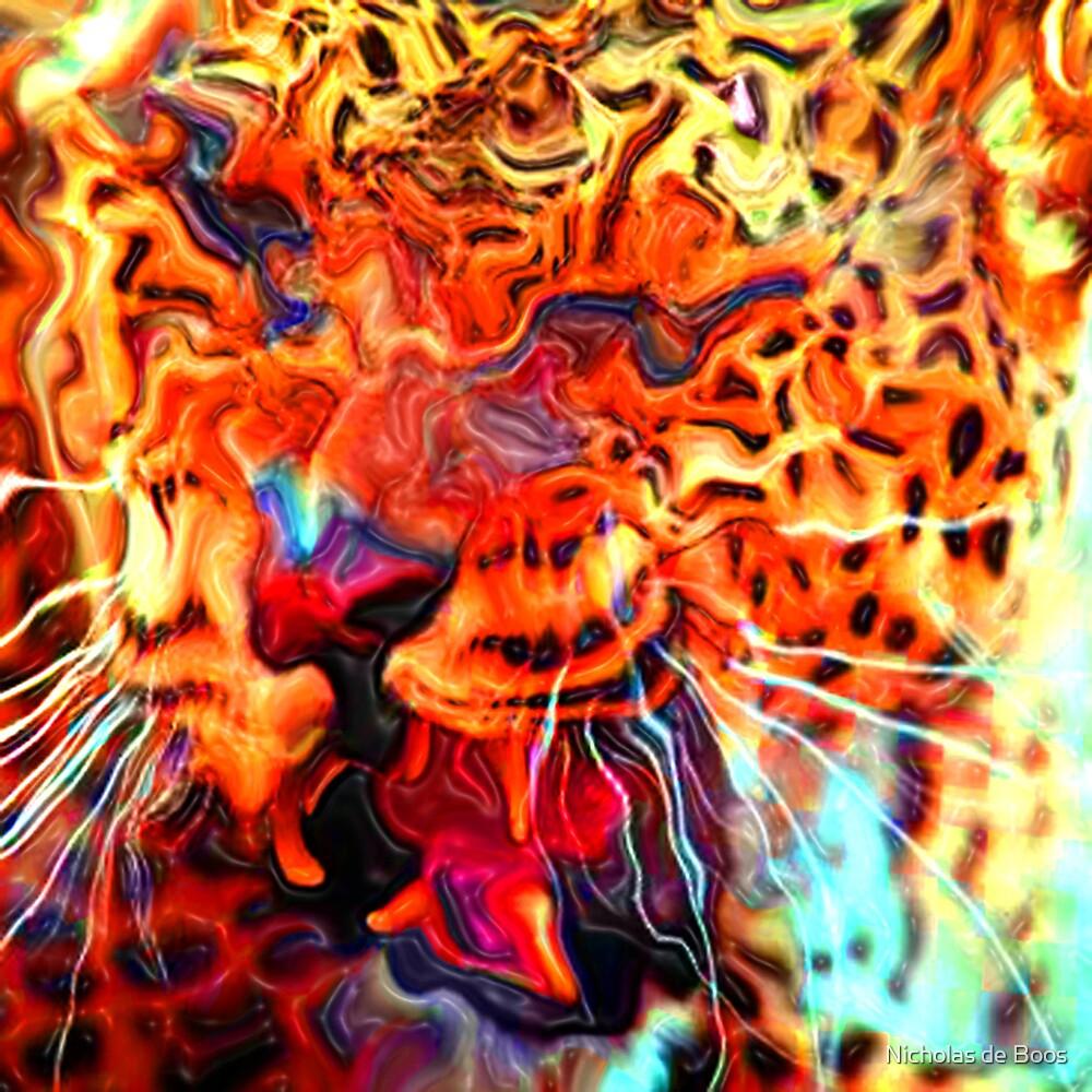 Cheetah II by Nicholas de Boos