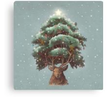 Reindeer tree  Canvas Print