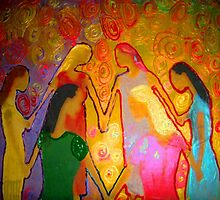 Circle of Sisters by sanakhan