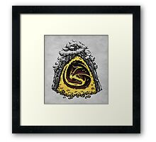 Within the Lonely Mountain Framed Print