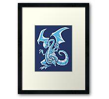 Blue-Eyed Beast Framed Print