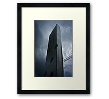 Cardiff Bay Fountain (Torchwood) Framed Print