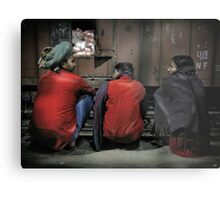 Agra Station Metal Print