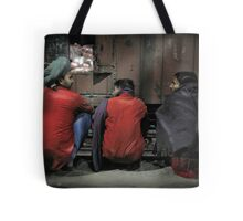 Agra Station Tote Bag