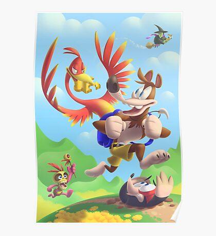 Bear and Bird Grand Adventure Poster