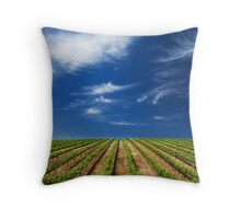 Vineway to Heaven Throw Pillow