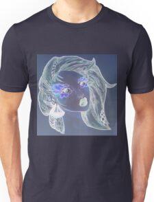 Edgy Nixie Girl Unisex T-Shirt