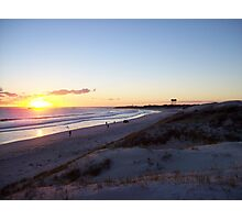 sunset at Lancelin Photographic Print