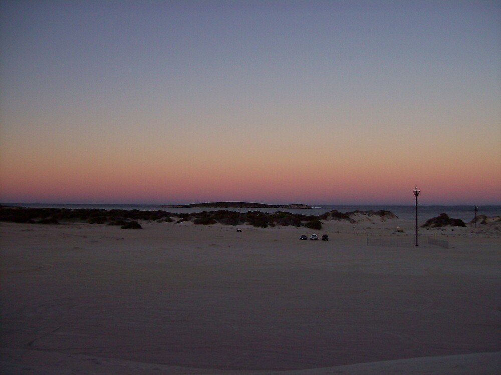 sunrise at Lancelin by dodgsun