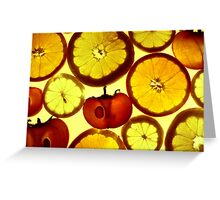 Fruit Land Greeting Card