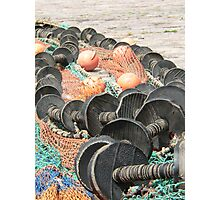 Fishing nets Photographic Print
