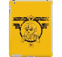 Capable Modern Princess - Decayed iPad Case/Skin