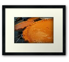 Three Pumpkin Pies Are Better Than One Framed Print