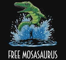 Jurassic World Free Mosasaurus by Tabner