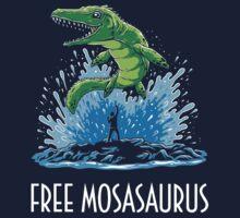 Jurassic World Free Mosasaurus Kids Tee