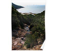 The Hidden Waterfall III - Hong Kong. Poster