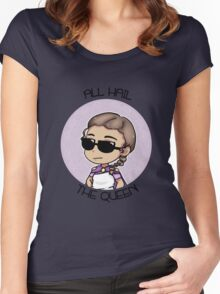 All Hail The Queen Women's Fitted Scoop T-Shirt