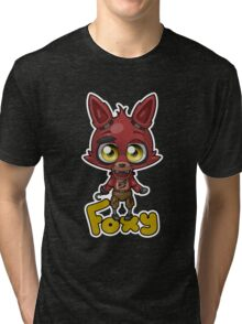 Kawaii Foxy Tri-blend T-Shirt