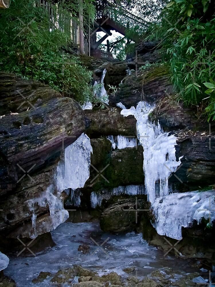 Frozen Waterfall by Lee Jones