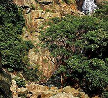 The Hidden Waterfall IV - Hong Kong. by Tiffany Lenoir