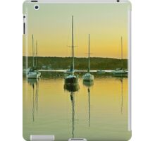 Sailboat Harbor iPad Case/Skin