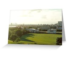 greenwich landscape Greeting Card