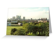 greenwich landscape 2 Greeting Card