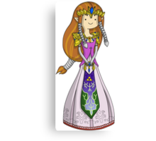 Zelda Time! Canvas Print
