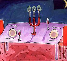 Empty Table by John Douglas