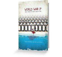 World War P Greeting Card