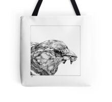 Bird with Breakfast Tote Bag