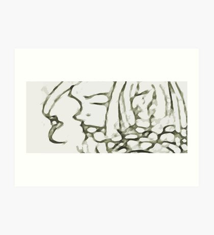 myspace gurl Art Print