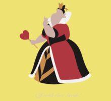 Alice in Wonderland inspired design (Queen of Hearts). Kids Clothes