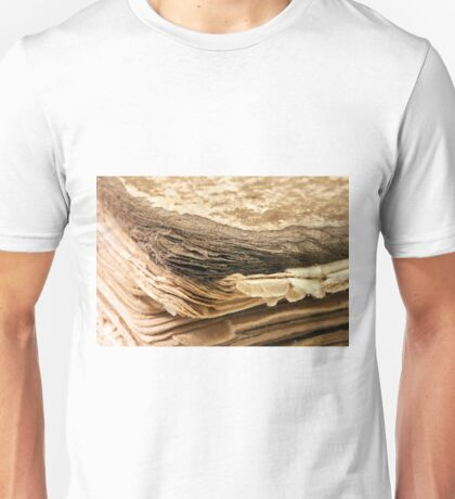 100 Year Old Book Macro  Unisex T-Shirt