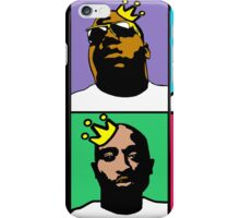 HIP-HOP ICONS: NOTORIOUS THUGS (4-COLOR) iPhone Case/Skin