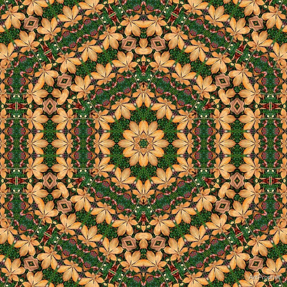 Hexagonal leaves by ArtProphet