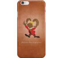 Alice in Wonderland inspired design (March Hare). iPhone Case/Skin