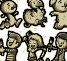Food Chain Sticker