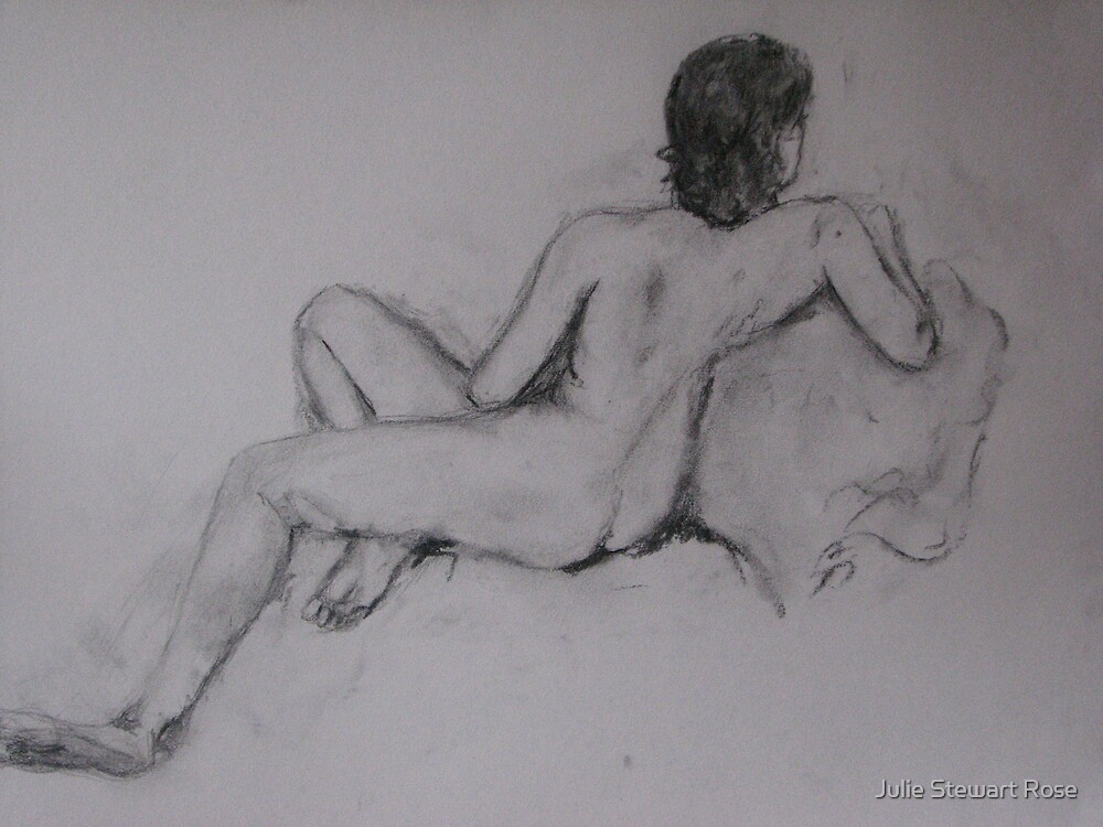 Female Nude by Julie Stewart